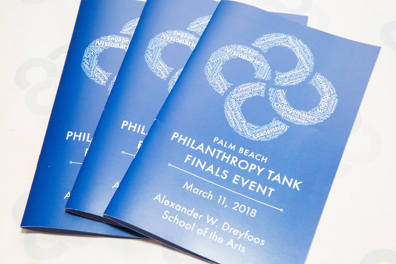 Palm Beach Philanthropy Tank 2018 Finals Event
