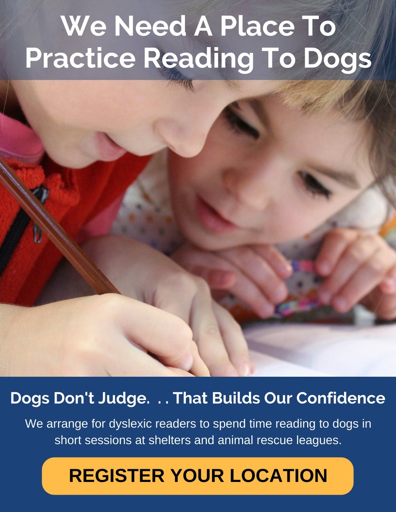 Reading to Dogs Location Registration Banner Image