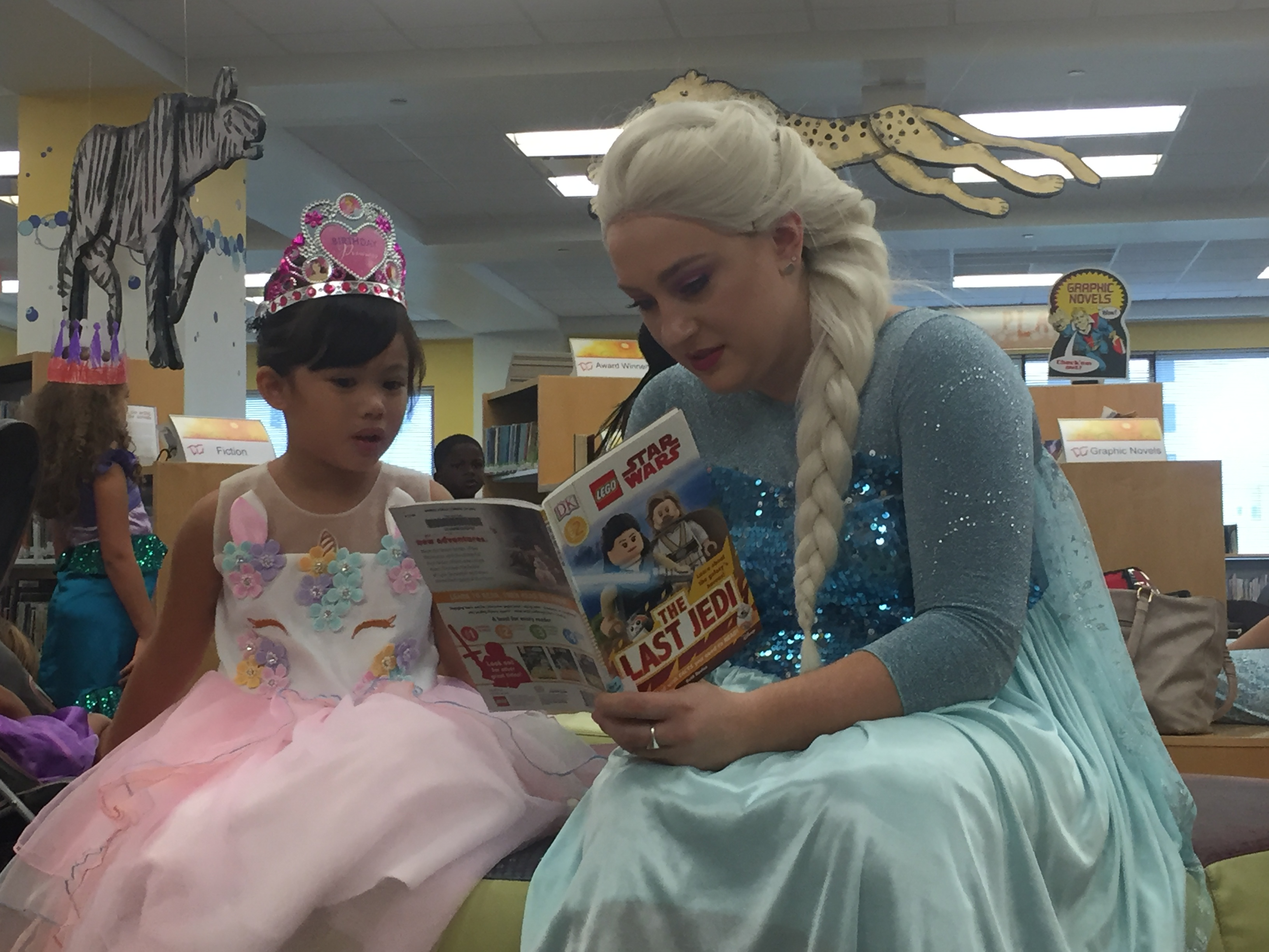 Reading To A Princess Mandel Library West Palm Beach