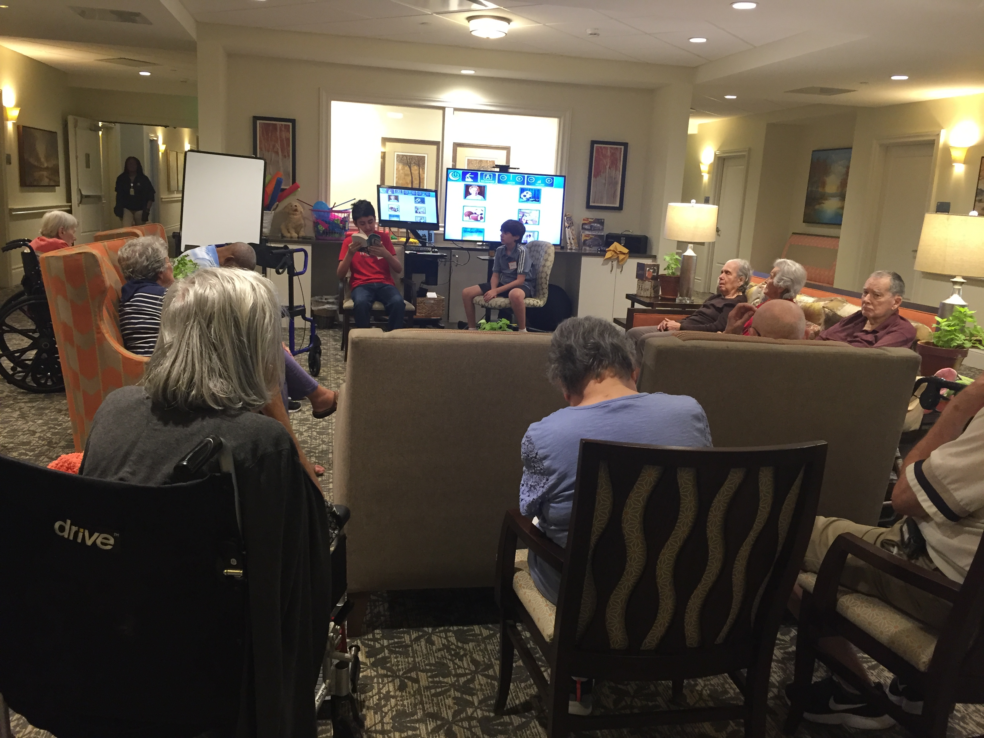 Reading Seniors at Harbor Chase in Palm Beach Gardens