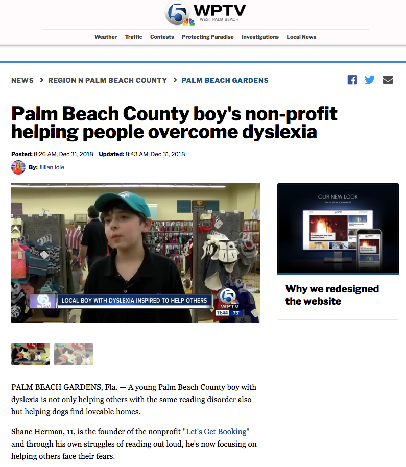 WPTV Channel 5 Read To Dogs at Petco