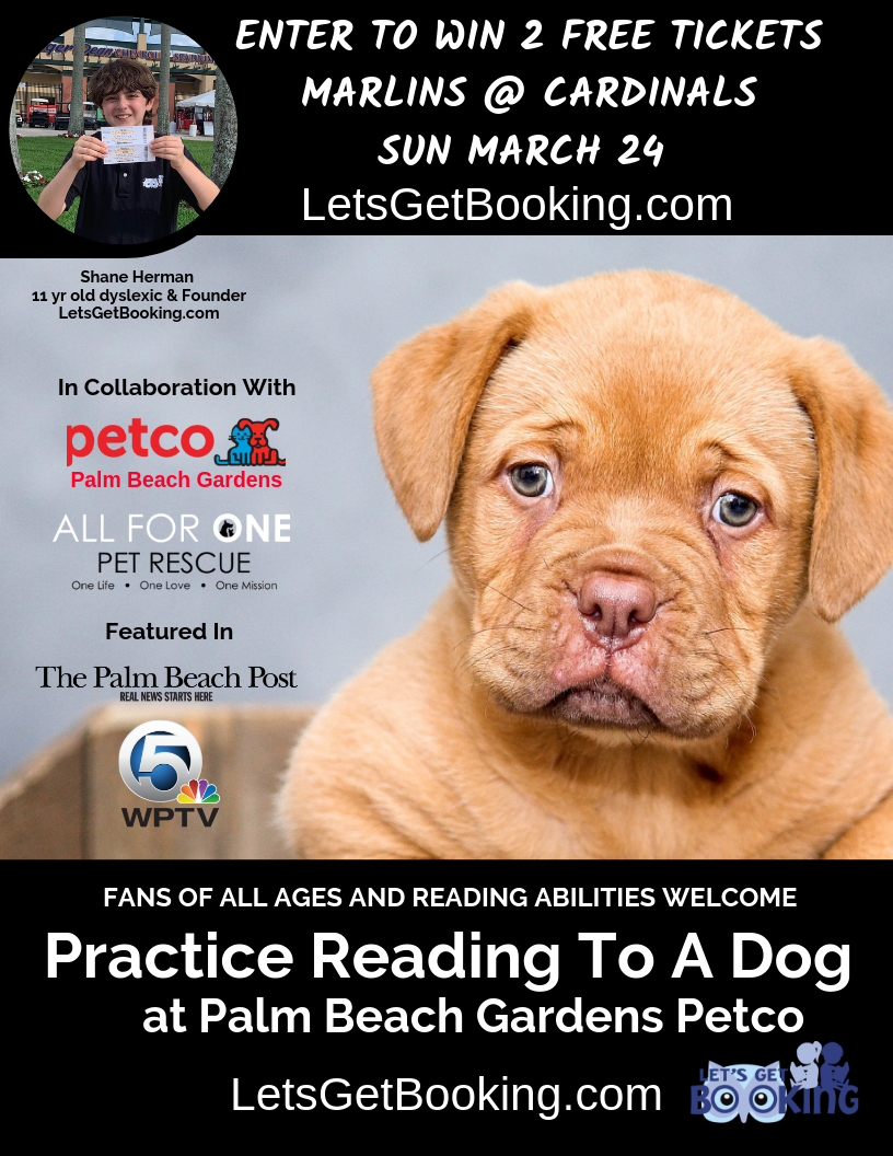 The Place To Practice Reading at Petco in Palm Beach Gardens FL